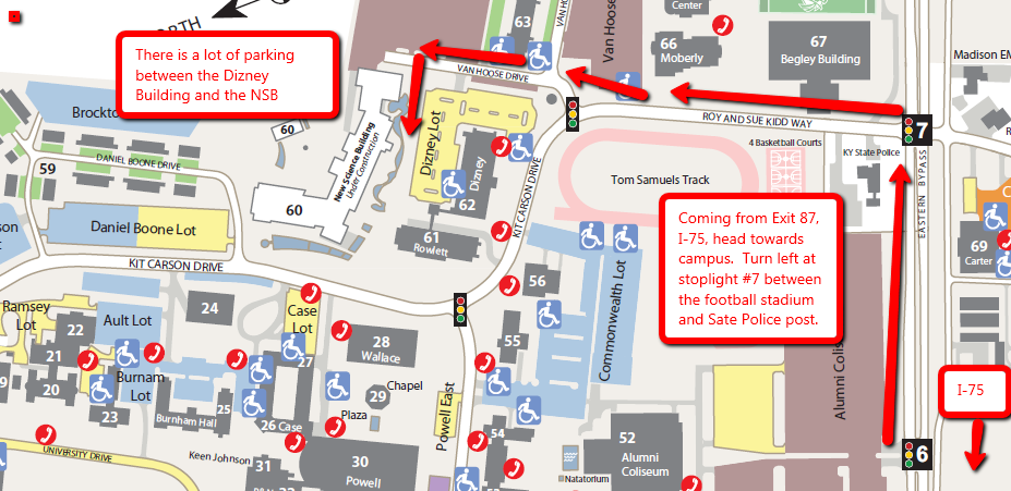 Directions To Eku New Science Building Center For